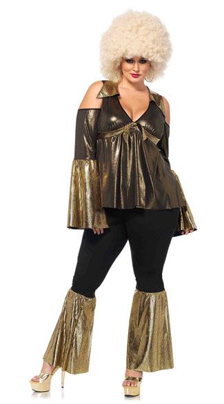 Plus Size Disco Diva Costume Plus Size 70s Costume Plus Size Disco