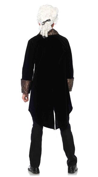 Men's Count Drac Costume - Black/Gold