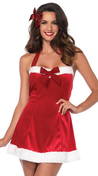 Santa S Little Helper Dress Costume Sexy Santa Costume