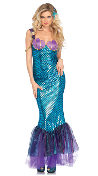 sc 1 st  Yandy & Seashell Mermaid Costume Sexy Siren Costume - Yandy.com