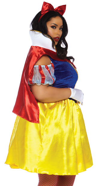 Plus Size Fairy Tale Snow White Costume Plus Size Snow White