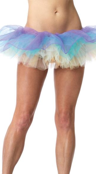Pastel Layered Tutu - Multicolor