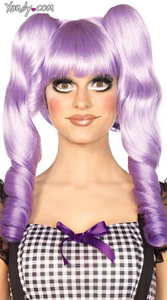 Dolly Bob Wig - Lavender