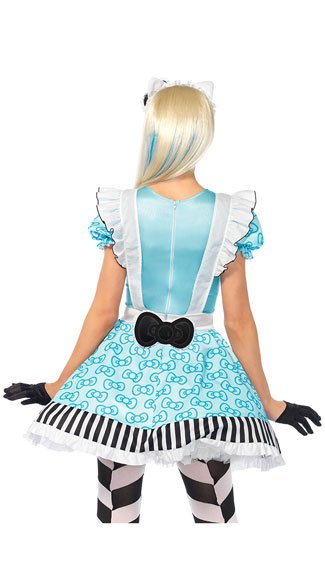 Hello Kitty Alice Costume - As Shown