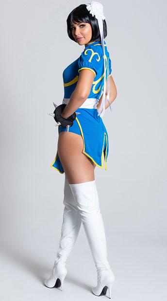 Street Fighter Chun-Li Costume - Blue