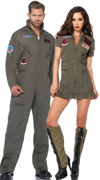 Top gun sexy costume