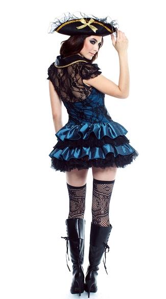 Deadly Treasure Costume - Black
