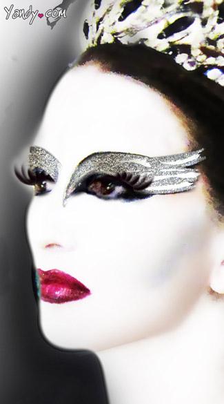 White Swan Eyes - As Shown