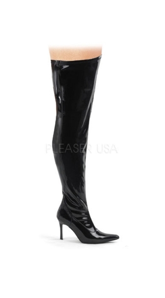 "Thigh High Boot with 3 3/4"" Heel, Sexy Thigh High Boot"
