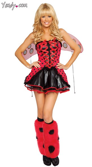 Lusty Ladybug Halloween Costume Adult Ladybug Costume Womens Ladybug Halloween Costume Cute As A Bug Costume  sc 1 st  Yandy & Lusty Ladybug Halloween Costume Adult Ladybug Costume Womens ...