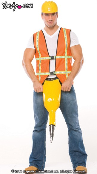 Menu0027s Construction Worker Costume  sc 1 st  Yandy & Menu0027s Construction Worker Costume Male Construction Worker ...