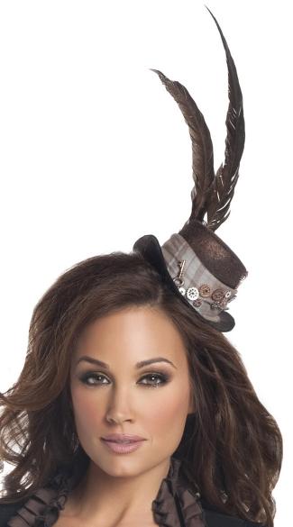 Steampunk Lady Hat - Brown