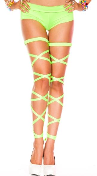 Basic Leg Wrap - Neon Green