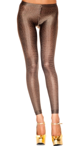 Snakeskin Leggings - as shown