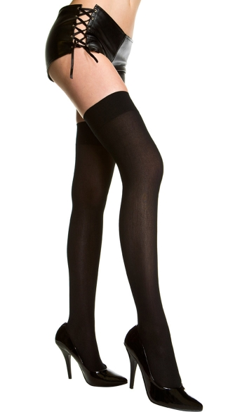 Phrase thigh high pantyhose where to find