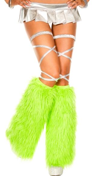Furry Legwarmers - as shown