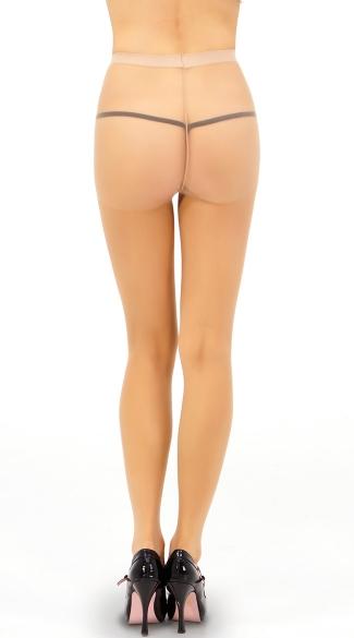 Sheer No Run Pantyhose - Dark Skin