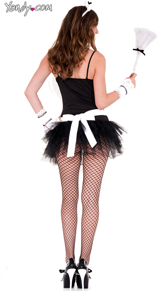 Sophisticated Maid Costume Kit - As Shown