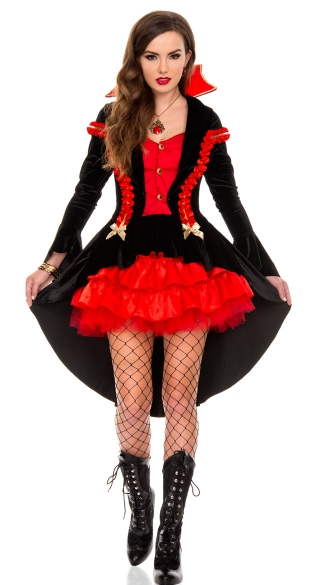 Vampire Countess Costume, Sexy Count Dracula Costume, Elegant Vampire Costume