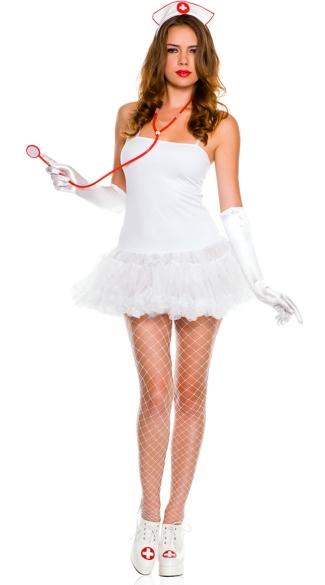 First  Aid Nurse Kit - White/Red