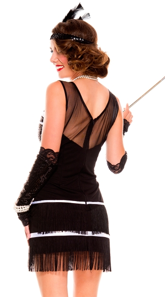1920s Flapper Fever Costume - As Shown