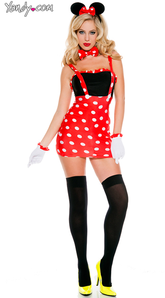 Darling Mouse Costume - As Shown