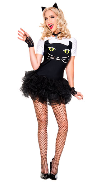 Sassy Kitty Cat Costume, Sexy Sassy Kitty Cat Costume, kitty costume, sexy kitty costume, cat costume, sexy cat costume, black cat costume, sexy black cat costume, cute cat costume, cute black cat costume, cute kitty costume
