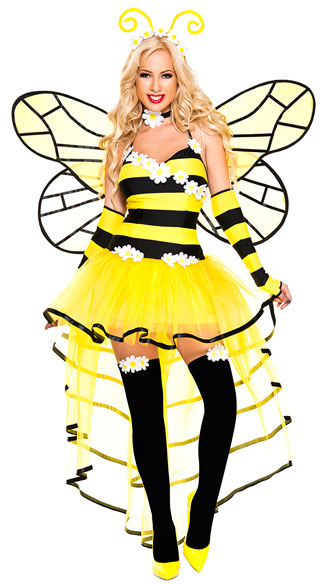 Deluxe Queen Bee Costume  sc 1 st  Yandy & Deluxe Queen Bee Costume sexy deluxe queen bee costume queen bee ...