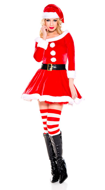 Santa's Helper Costume - As Shown