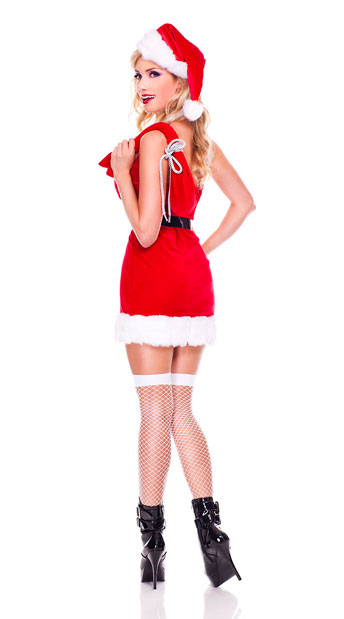 Miss Claus Costume - As Shown