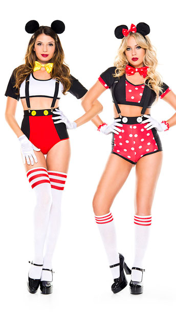 Sexy Mouse Duo Costume, Jolly Mouse Costume, Sexy Mouse -8264
