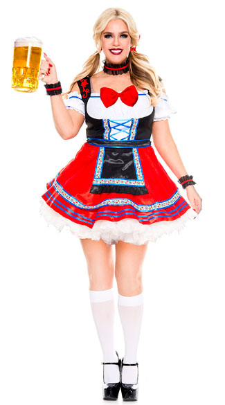 Plus Size Oktoberfest Beer Babe Costume  sc 1 st  Yandy & Plus Size Oktoberfest Beer Babe Costume plus size sexy beer girl ...