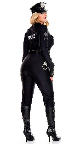 Plus Size Perverse Lieutenant Costume - As Shown