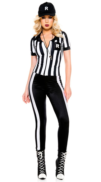sc 1 st  Yandy & Half Time Referee Costume sexy referee costume - Yandy.com