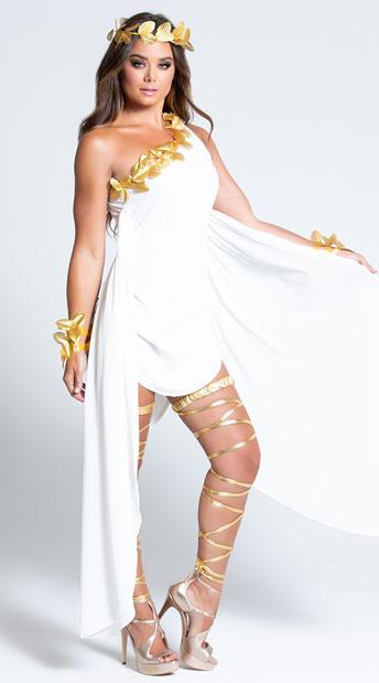 Goddess Beauty Costume - As Shown