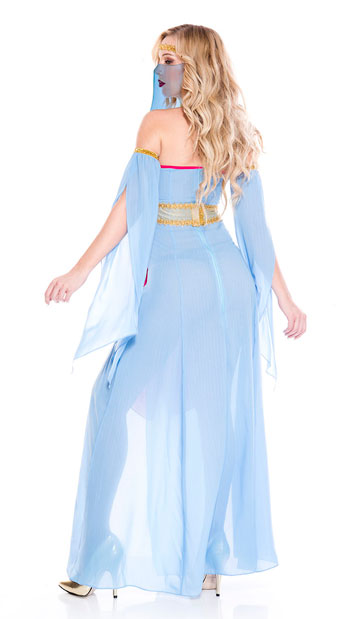 Harem Princess Costume - As Shown