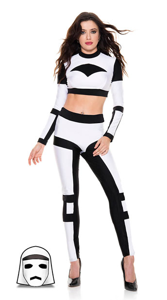 Galaxy Trooper Costume - As Shown