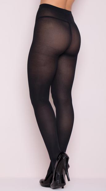Opaque Tights - Black