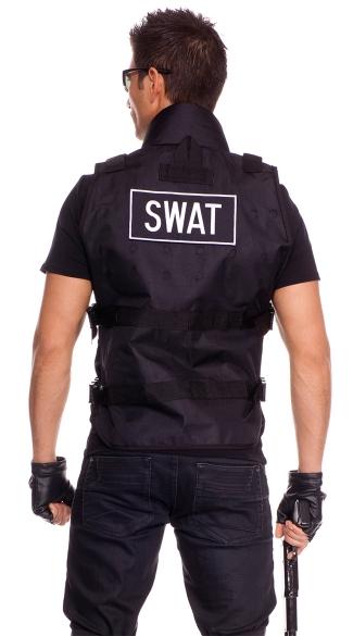 SWAT Commander Mens Costume - as shown