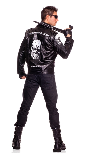 Mens Terminator Costume Set Terminator Jacket and Glasses Male Terminator Costume  sc 1 st  Yandy & Mens Terminator Costume Set Terminator Jacket and Glasses Male ...