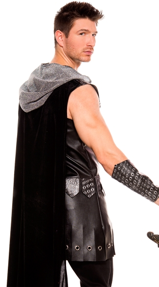 Mens Medieval Warrior King Costume - As Shown