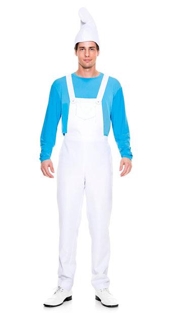 Men's Blue Buddy Costume - As Shown