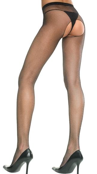 Crotchless pantyhose pics