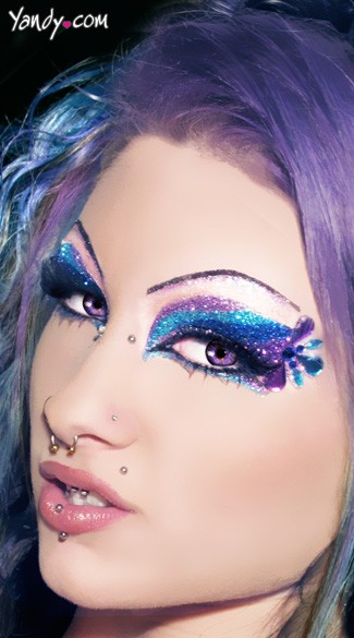 Mazuri Glitter Eye Kit - As Shown