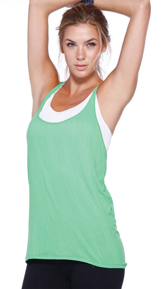 Relaxed Criss-Cross Tank Top, Strappy Tank Top, Loose Tank Top