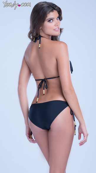 Fringe One Piece Swimsuit - as shown