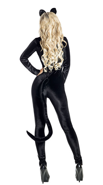 Midnight Kitty Costume - Black