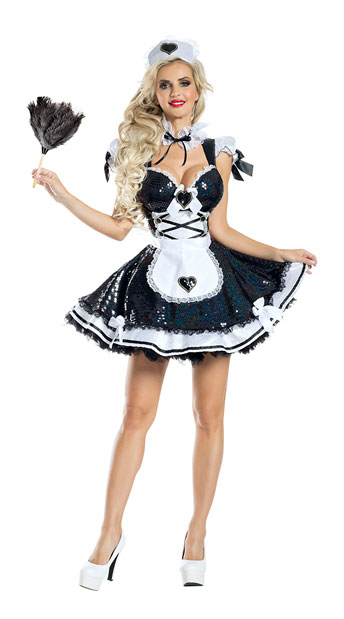 Marvelous Maid Costume - As Shown