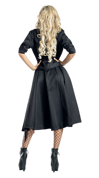 Gangster Babe Costume - As Shown