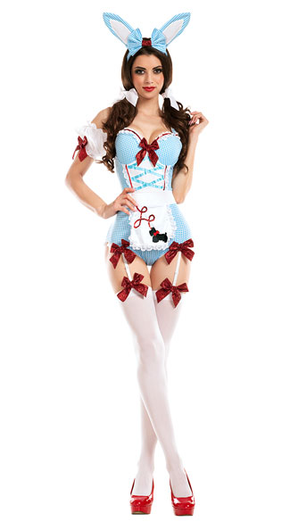 Kansas Bunny Costume - As Shown